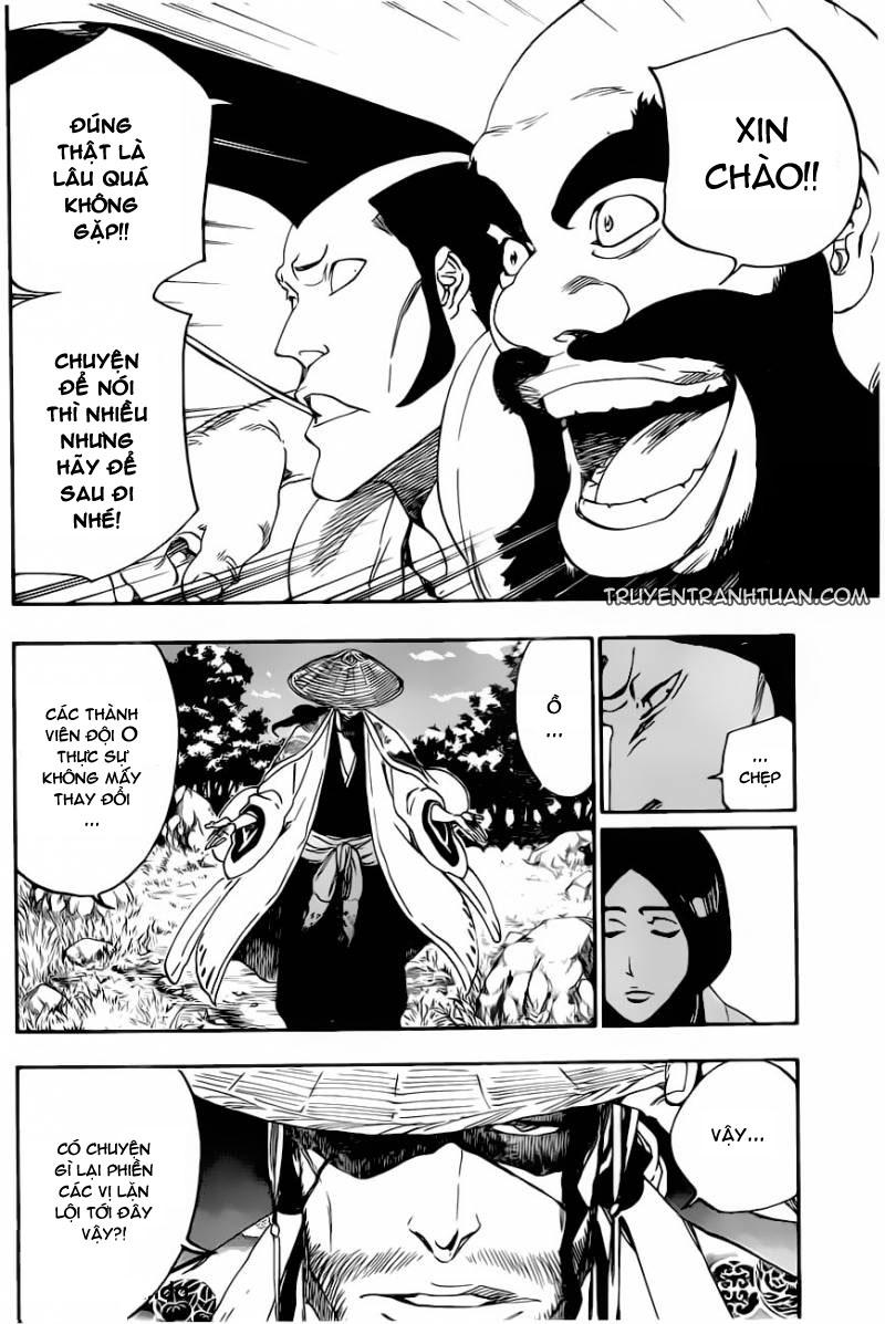 Bleach chapter 517 trang 8