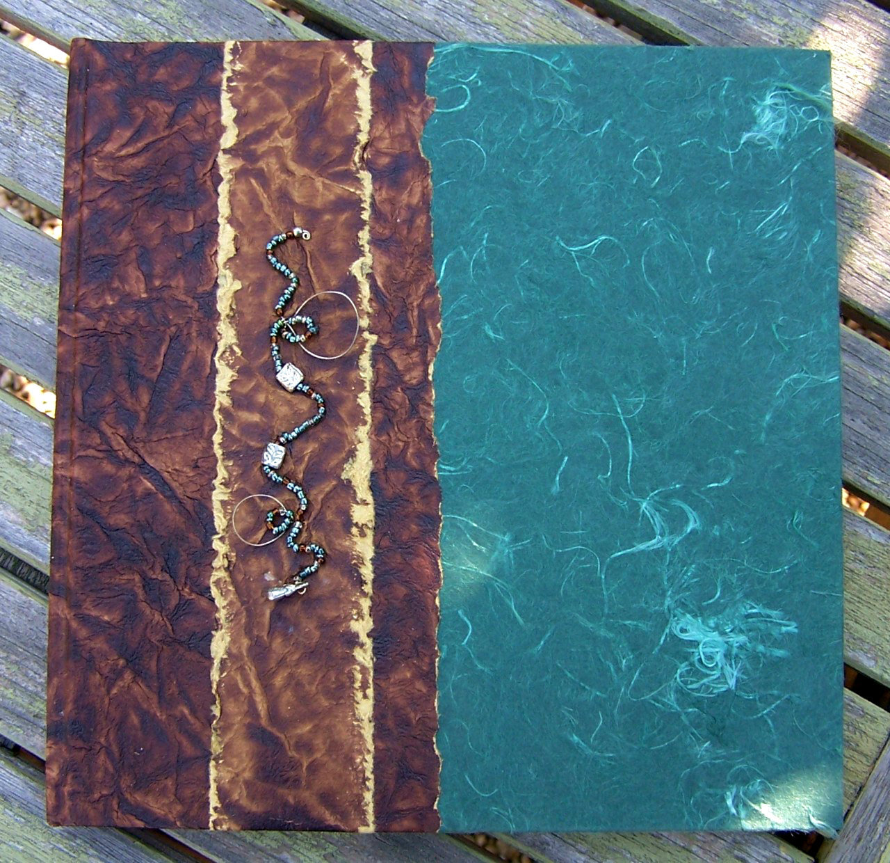 beautiful handmade journal