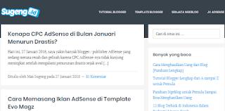 Blog dengan peringkat tertinggi di Indonesia