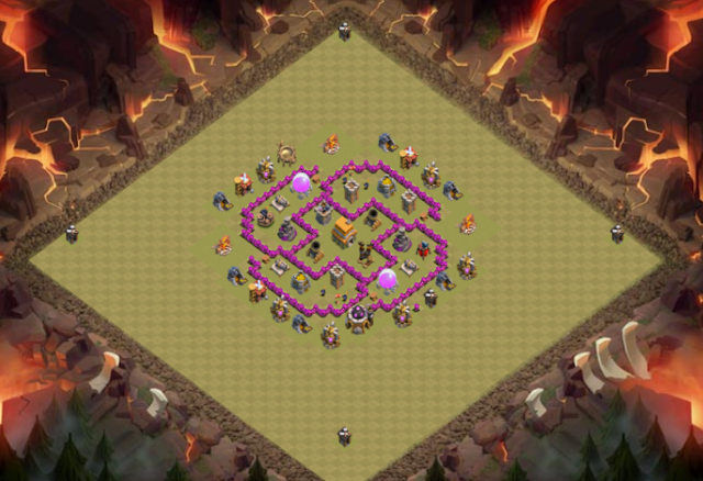 Base TH 6 TERKUAT Coc