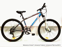 Sepeda Gunung United Dallas XC77 Rangka Aloi Lockable Fork Disc Brake 26 Inci
