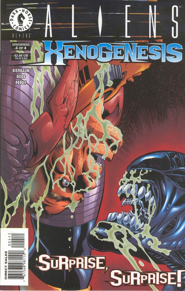 Aliens: Xenogenesis issue 4 - Page 1