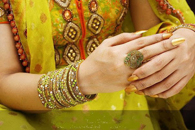 Beautiful Bridal's Hand