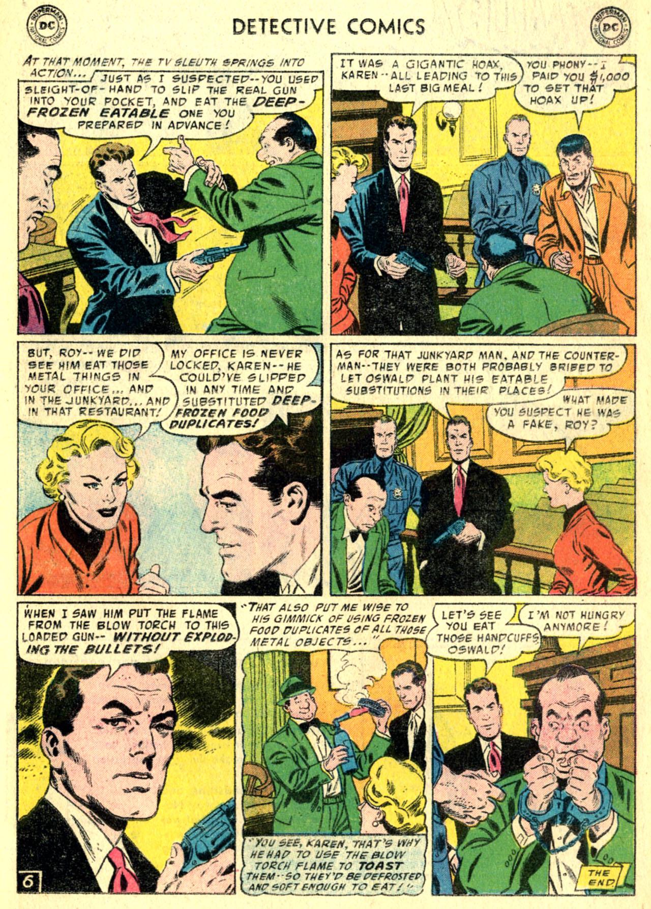 Detective Comics (1937) 232 Page 21