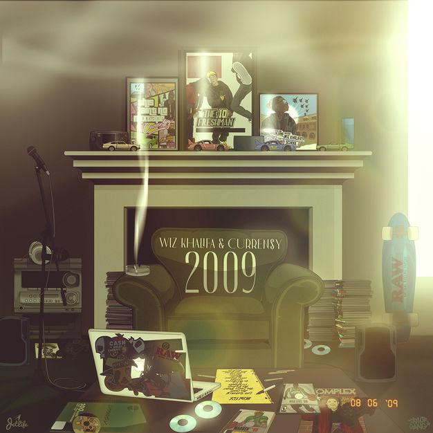 Wiz Khalifa & Curren$y - 2009 - Album (2019) [iTunes Plus