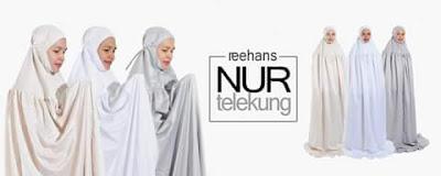 Telekung Reehans Pilihan Muslimah