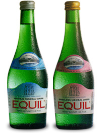 equil mineral water
