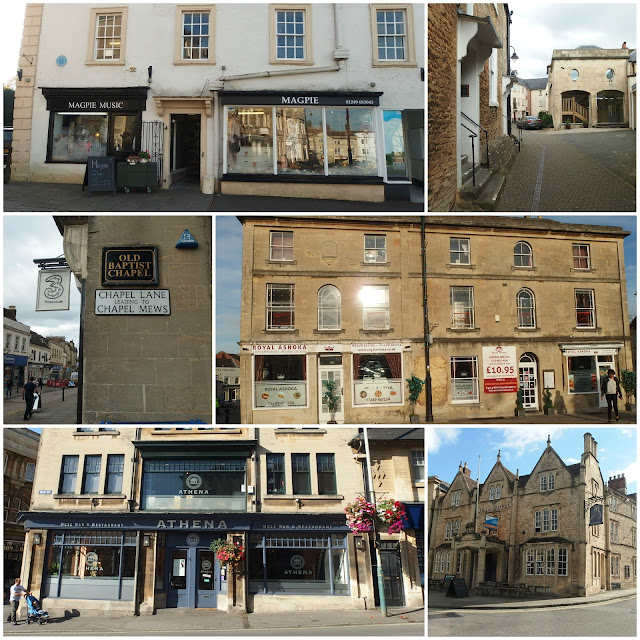 Some of Chippenham's building with spooky tales associated with them