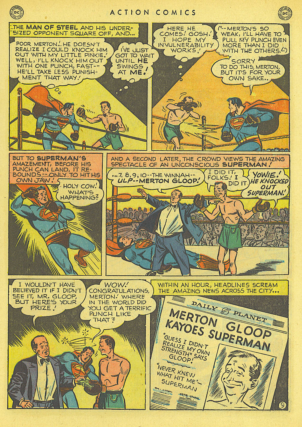 Read online Action Comics (1938) comic -  Issue #145 - 10