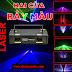 Đèn laser quét tia 2 cửa 7 màu PAH-413