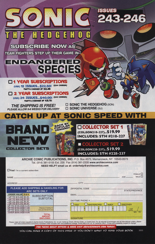 Read online Sonic The Hedgehog comic -  Issue #242 - 7