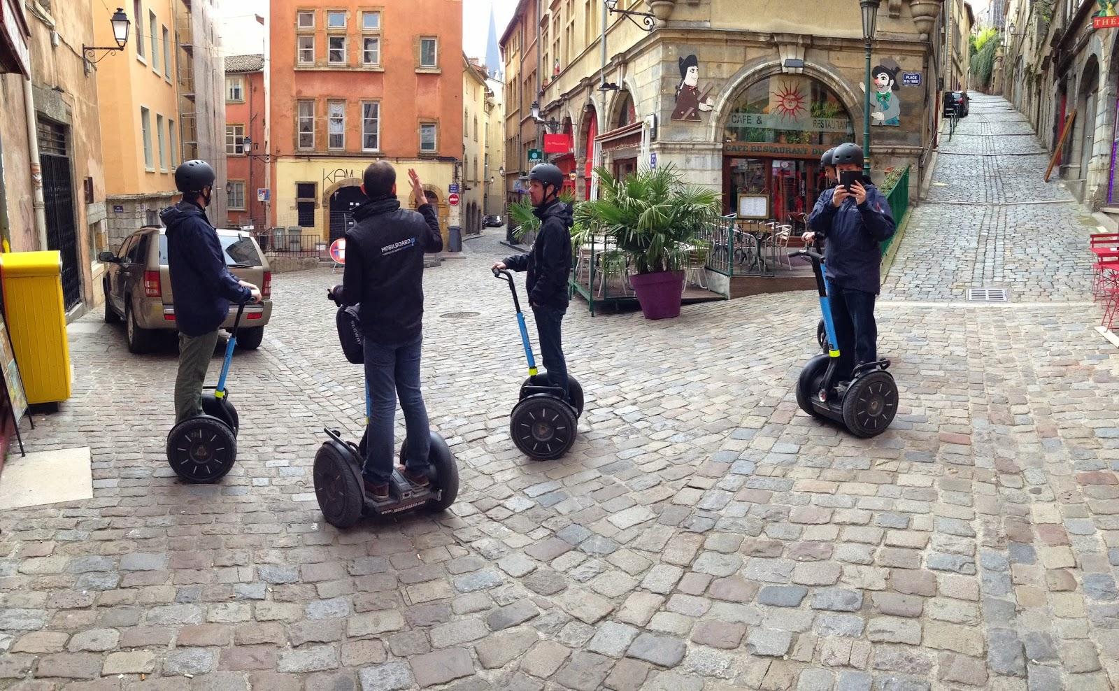 Activité Segway dans le vieux-Lyon