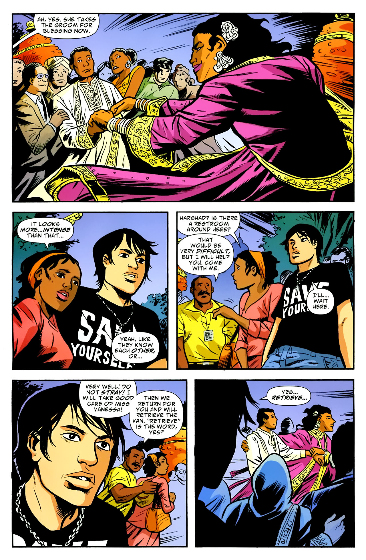 Read online American Virgin comic -  Issue #18 - 19