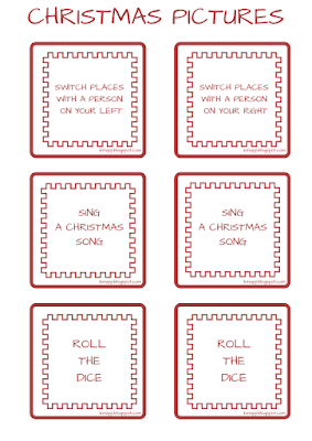 Christmas Pictures Board Game