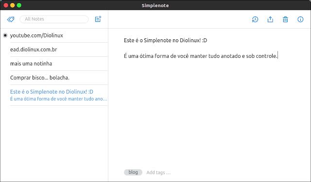 Simprenote Ubuntu