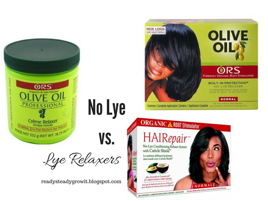 choosing between lye and no lye relaxers ready steady grow it
