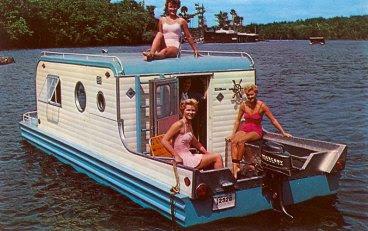 Relaxshacks Twelve Terrific And Tiny Houseboats And