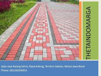 Harga paving block per m2