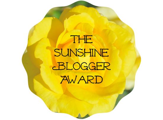 The Sunshine Blogger Tag