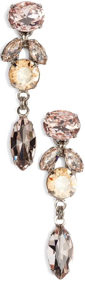 SORRELLI Sparkling Siren Crystal Crystal Earrings