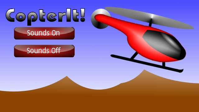 Helicopter game jcreator