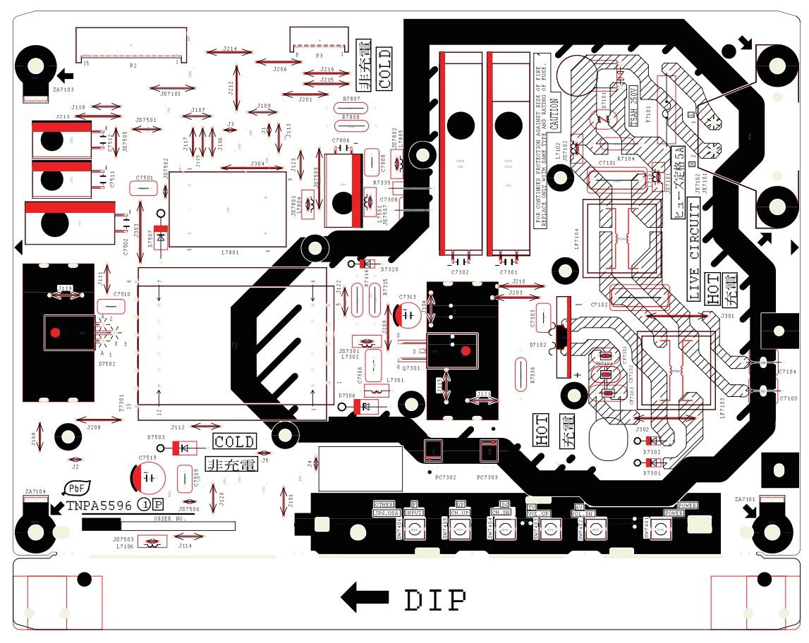 manguonblog: Panasonic TC L32X5B LCD TV - TNPA 5596 - SMPS ...
