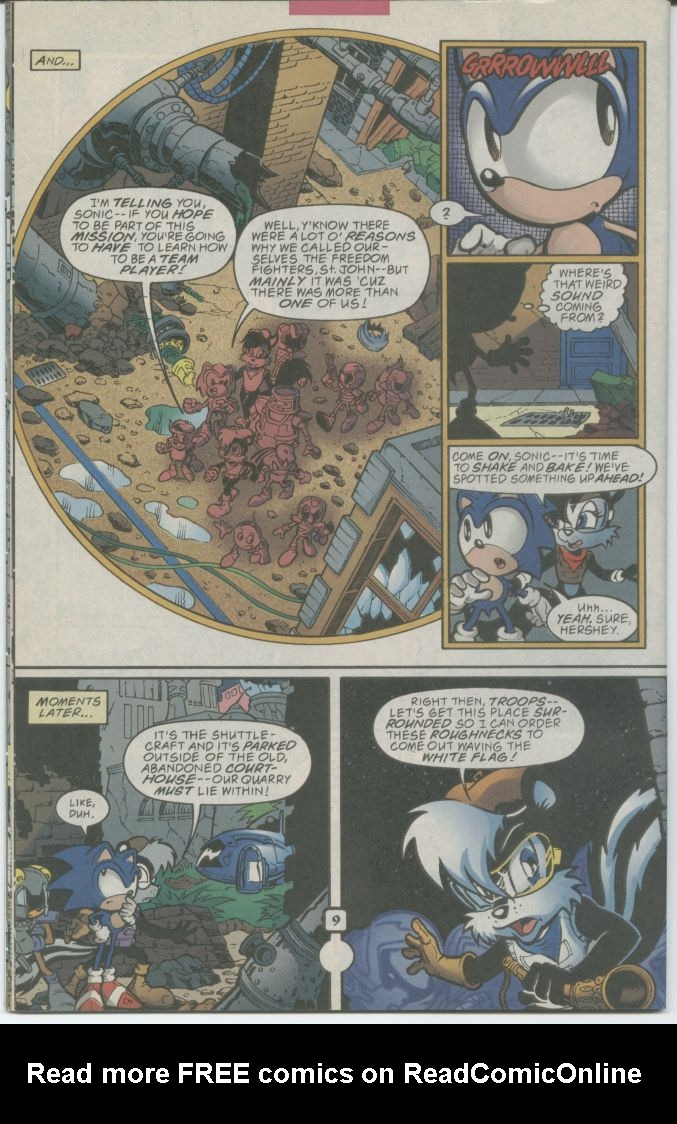 Read online Sonic The Hedgehog comic -  Issue #70 - 12
