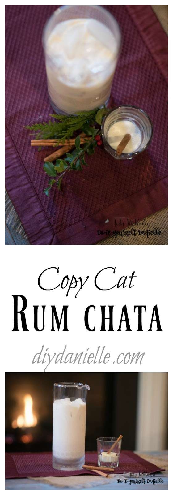 Recipe for Copy Cat Rum Chata