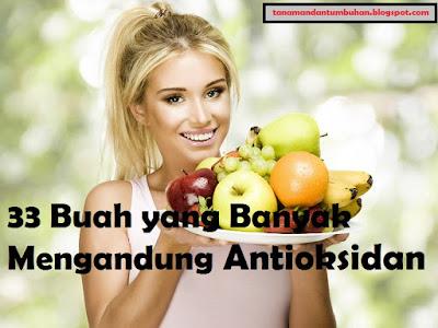 Buah yang Banyak Mengandung Antioksidan Tinggi