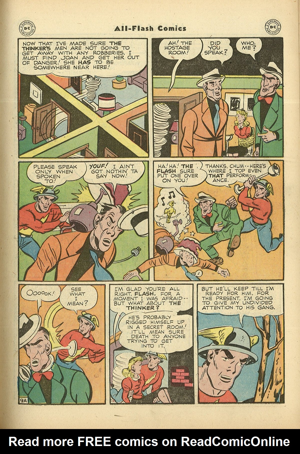 Read online All-Flash comic -  Issue #27 - 11