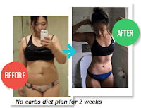 no carbs diet plan for 2 weeks