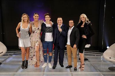 Lola, Ciça, João, Raul, Thammy e Val (Crédito: Rodrigo Belentani/SBT)