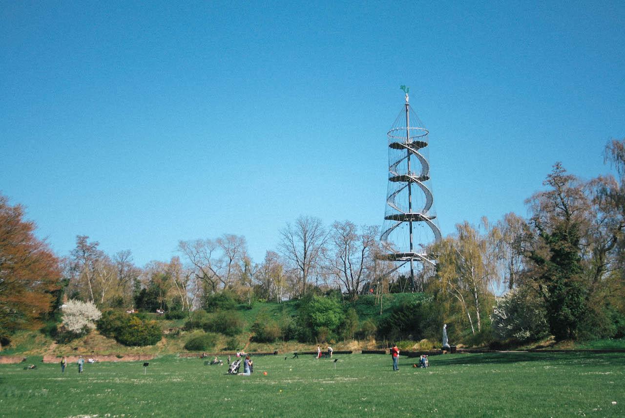 Bild Stuttgart Höhenpark Killesberg mit Aussichtsturm