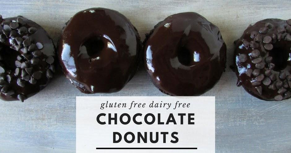 Chocolate Cake Donuts (Gluten Free, Dairy Free) - Living freely gluten ...
