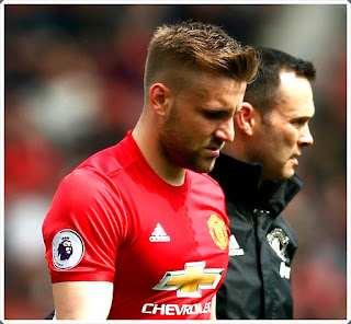 Shaw Injury Manchester United