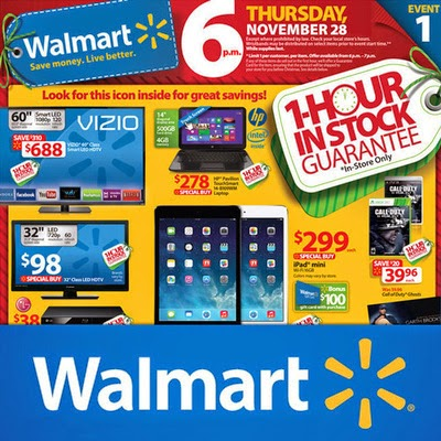 offers from Wal-Mart Black Friday Weekend Sales