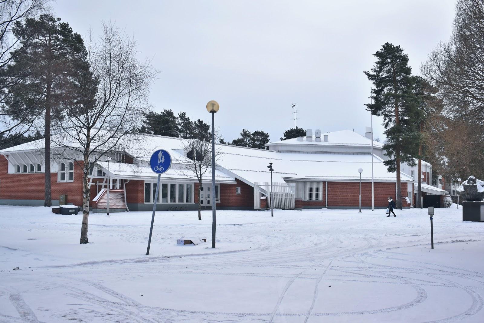oulu, finlandia, inverno