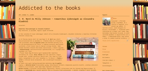 Addicted to the books blog
