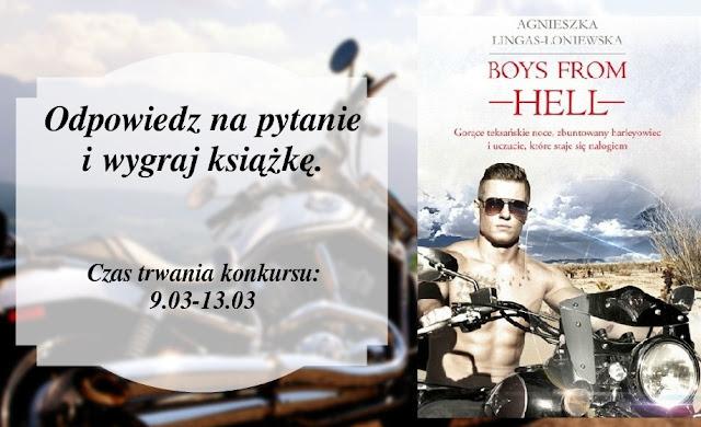 Boys from hell - KONKURS z wydarzenia ZMYSŁOWY ZAWRÓT GŁOWY.