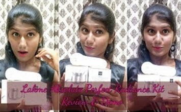 Lakme Perfect Radiance Kit with FREE Massager – Review & Demo