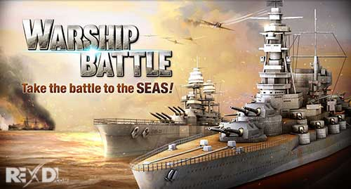 تحميل WARSHIP BATTLE 3D World War II مهكرة