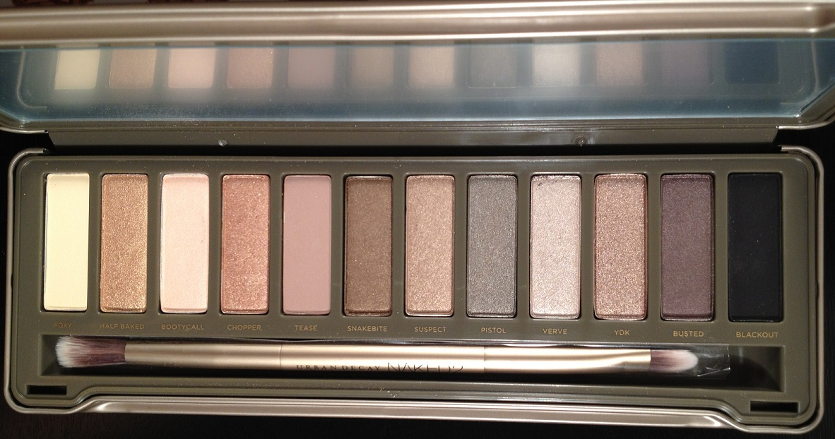 Pink Sith: Urban Decay Naked 2 Palette - Review Pictures