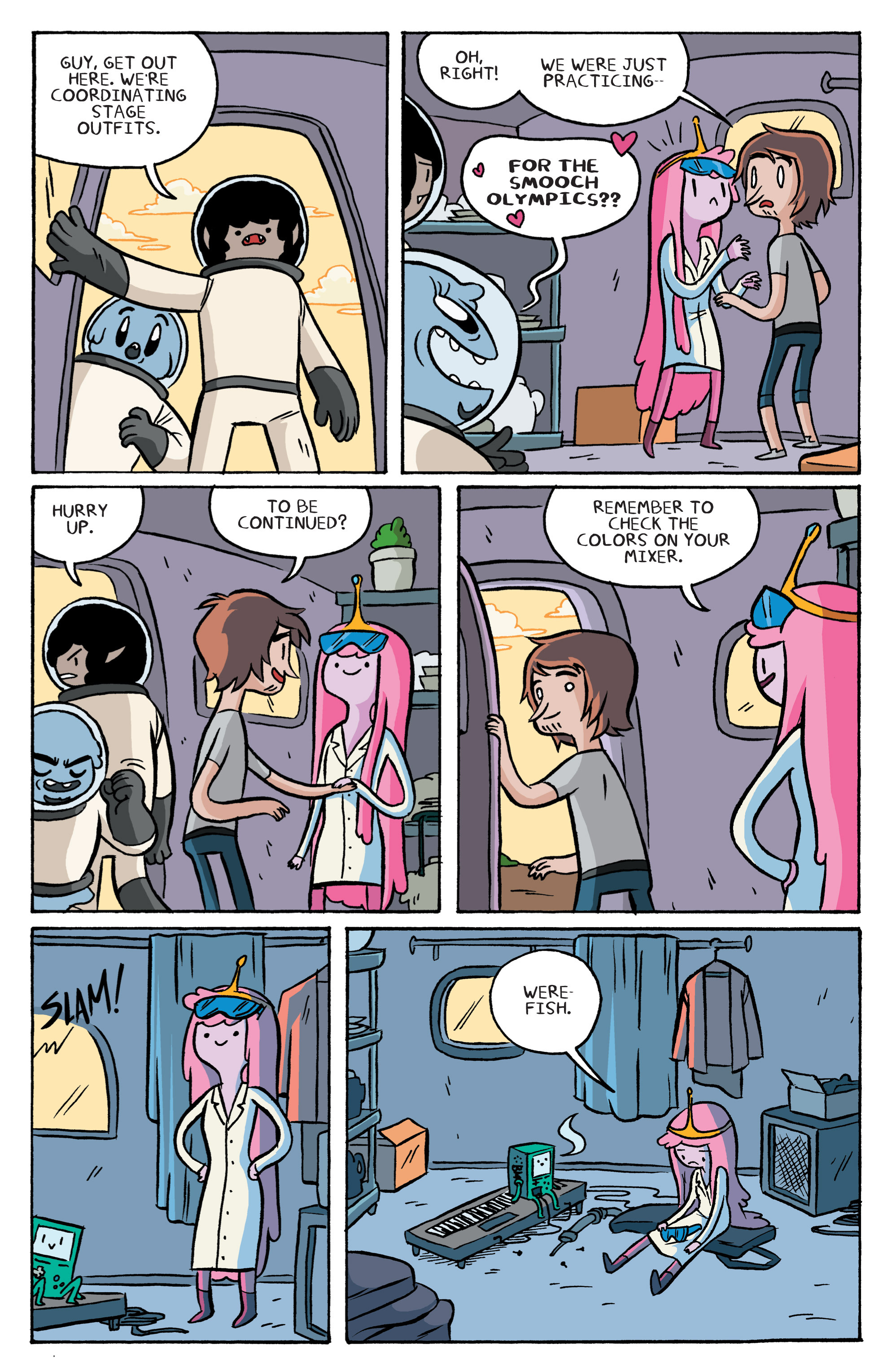 Read online Adventure Time: Marceline and the Scream Queens comic -  Issue #3 - 17