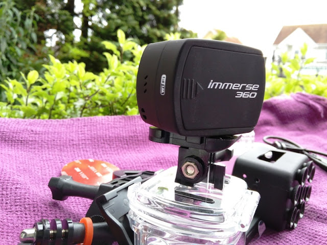 Kitvision 360 Immerse Action Camera with Built-In Wi-Fi | Gadget