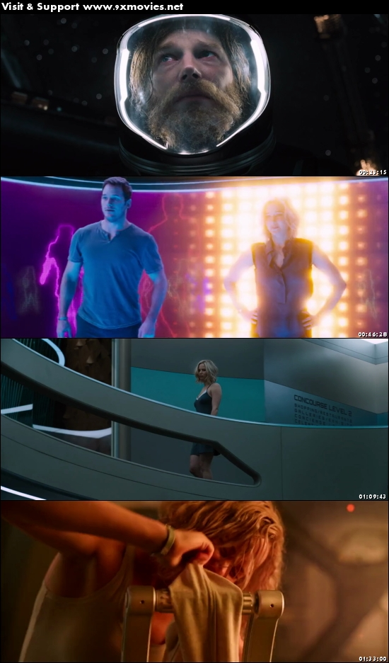 Passengers 2016 Dual Audio ORG Hindi 720p BluRay