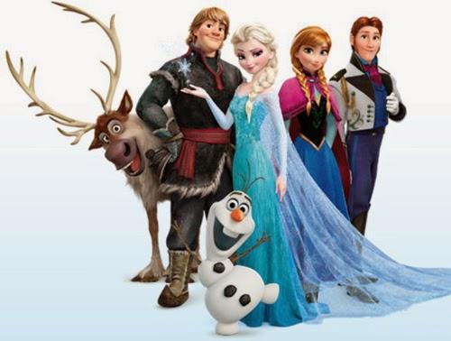 Imagenes de Frozen Imagenes y dibujos para imprimir