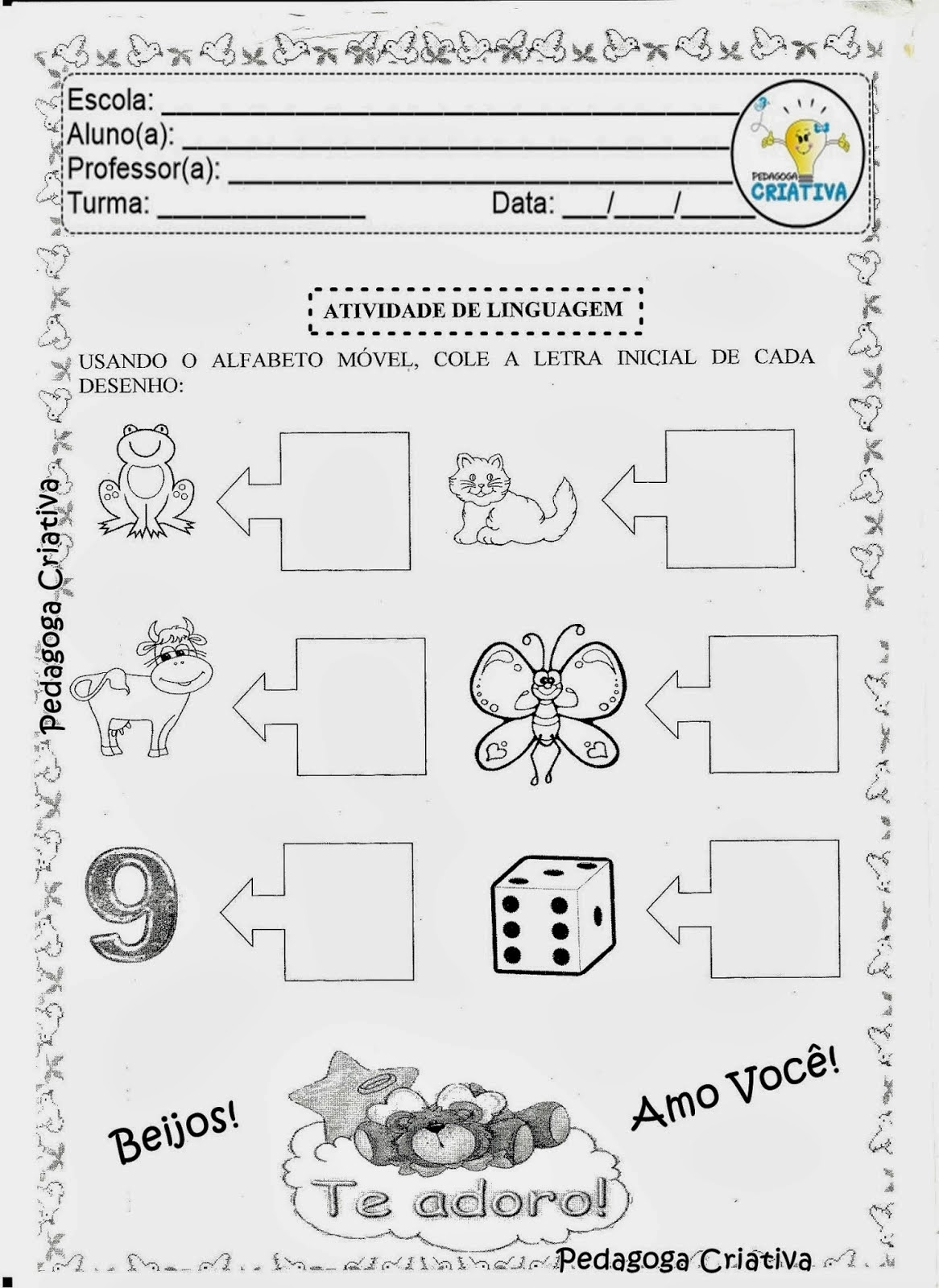 Excepcional ALFABETIZAÇÃO DIVERTIDA: EXPLORANDO O ALFABETO MÓVEL UO46
