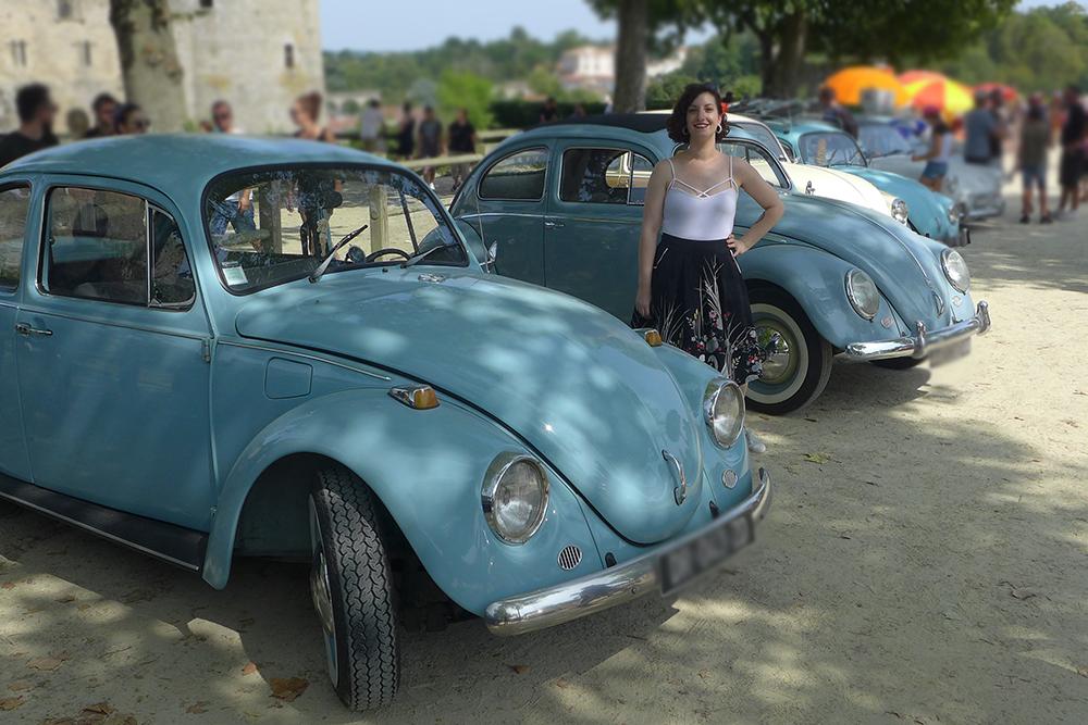 le dressing de sarablabla, voitures vintages Coccinelle volkswagen à Clisson