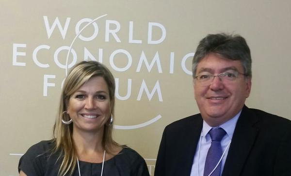 Queen Maxima - World Economic Forum Davos, Switzerland