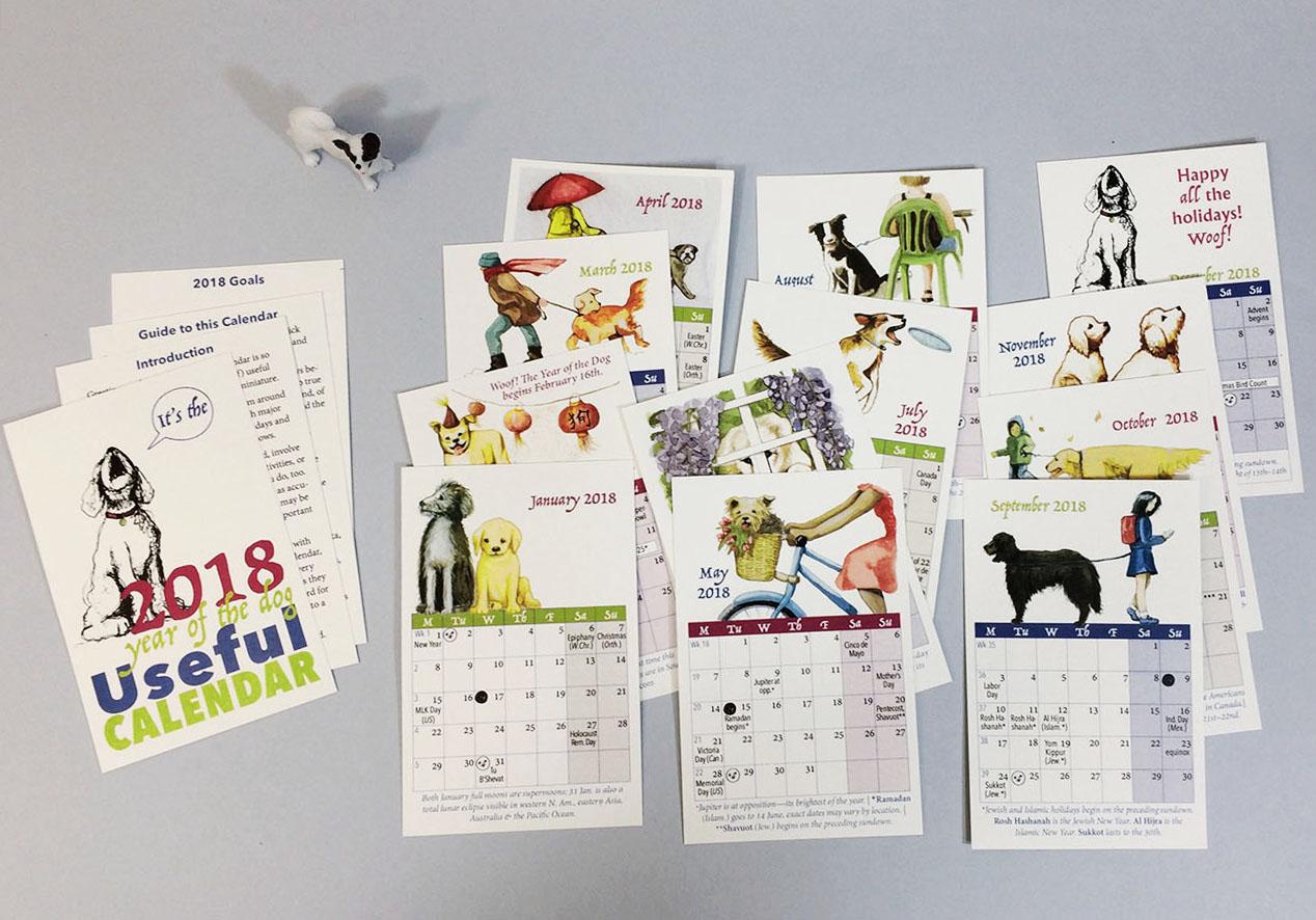 Unique Calendar Design Inspiration : Best new year wall desk calendar designs for inspiration